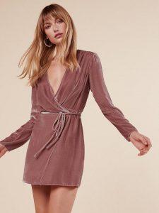 dress-pink-velvet